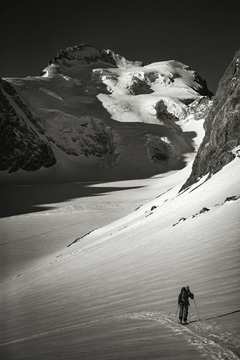Last Tuesday ❤ Glacier Blanc Dôme des Ecrins 4102 m France🇫🇷 Nature Desert Outdoors Adventure Mountain Landscape Winter skitouring