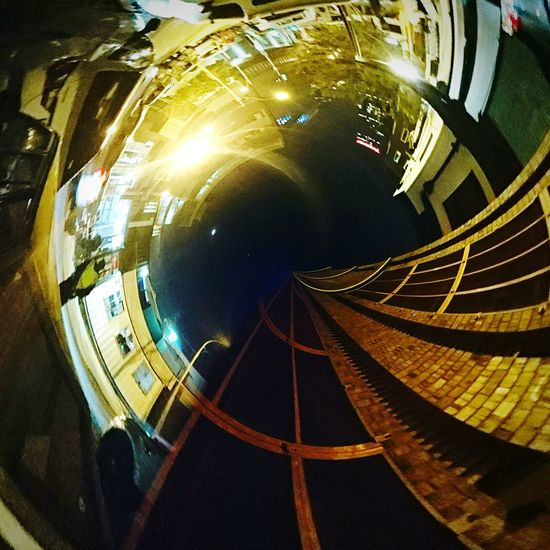 Maboneng Precinct Johannesburg City South Africa Street Photography Street Urban Spin Tiny Planet XPERIA Xperiaphotography Lights Looking Up Surreal Surrealism