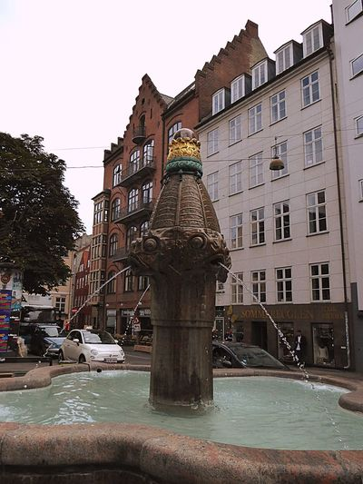 Denmark 🇩🇰 Copenhagen Fountain Square Vandkunsten Check This Out Fine Art Photography City Of Copenhagen Architectural Detail Architecture Taking You On My Journey😎 No People Old But Awesome Wonderful Copenhagen Old Stuff