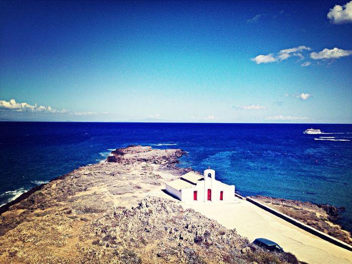 La chiesa sul mare... La Lapacedeisensi