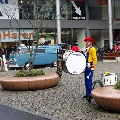 Carnaval Trommel Muziek  Carnaval One Person Day Outdoors People City