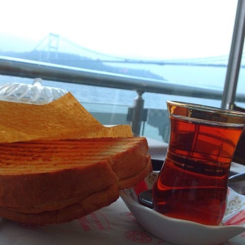 Tost çay Kahvaltı Tunç