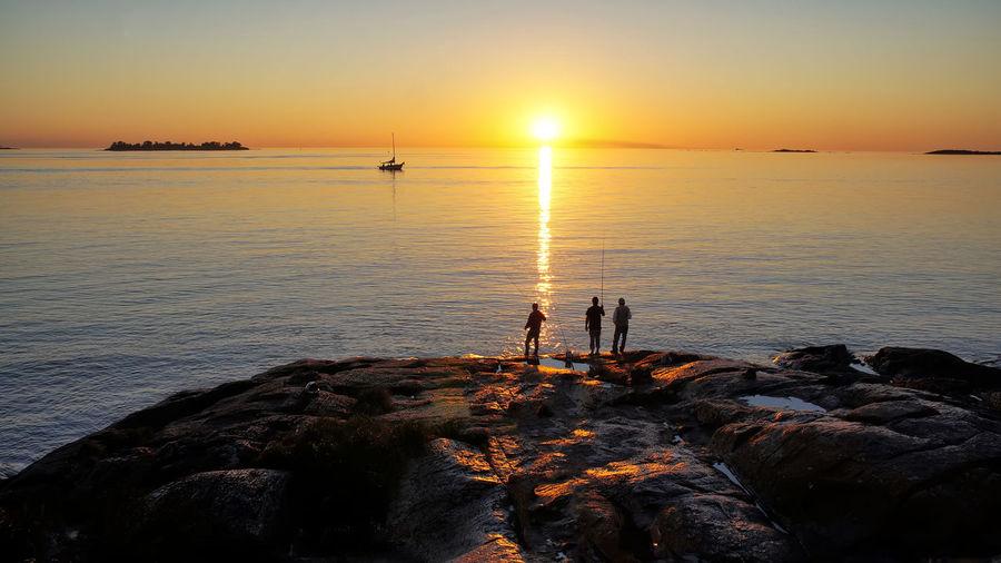 Scenic sunset over Rio De La Plata in Colonia Del Sacramento Colonia Del Sacramento Uruguay Scenics Sunset Sightseeing Famous Place Destination Attraction Architechture Colony Rio De La Plata Old Landscape