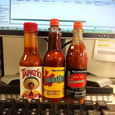 Always prepared!! Workrelated Hotsauce Emergency Photooftheday tagsforlikes teammovidas