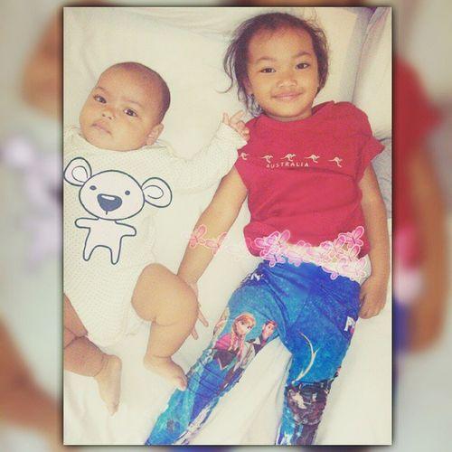 Cutekidsclub Salman Syahla Siblings Bonding Yangakurya Kakakadik Kesayanganbunda