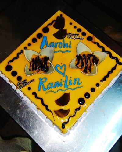 Cake♥ Cake Lover Cakes! Yummy ♥ Yummy♡ Sweet Food Tasty Cake Mango Flavour