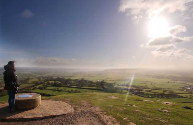 View from Glastonbury Tor Landscape Landscape_Collection Eye Em Nature Lover Traveling Great Views Enjoying The View