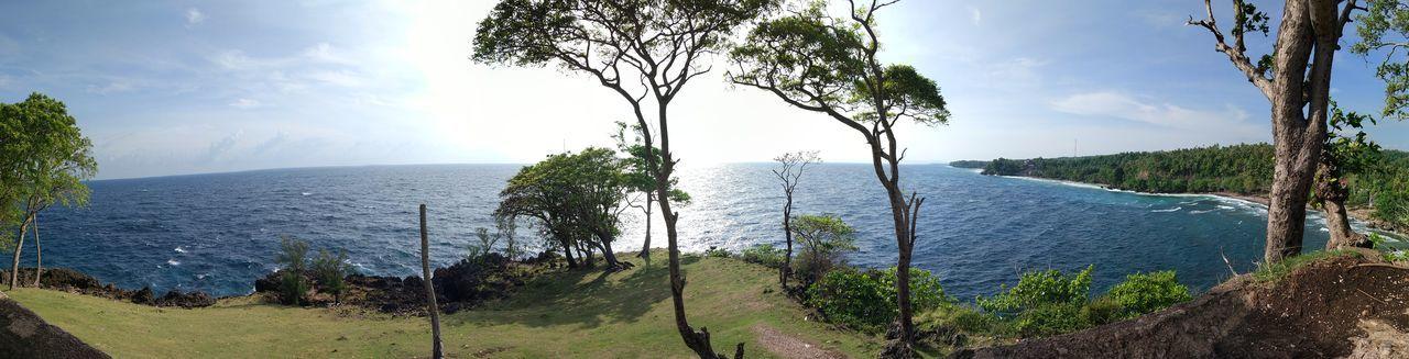 Goa Jepang Goa Jepang Goa Jepang Japan Goa Aceh Sabangisland Sabang Pulau Weh Panorama Laut Sea Tree Water Mountain Lake Pine Tree Pinaceae Sky Landscape Cloud - Sky