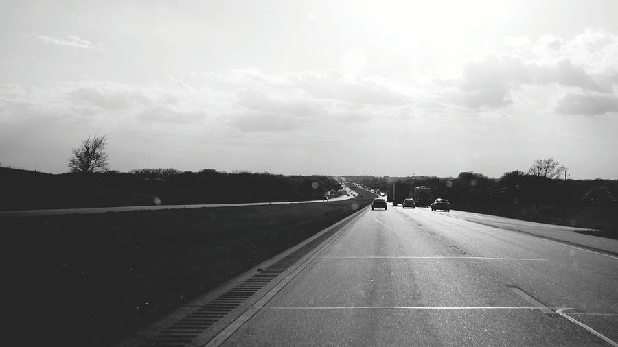 Long road home. On The Road Travelling From My Point Of View Going Home Nebraska A Day In The Life Taking Photos B&w Photography Monochrome Light-Play