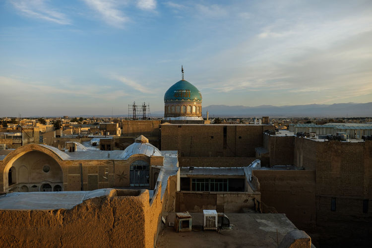 Adobe Architecture Bazaar Bazaart ✌️ Blue Sky Building Exterior Built Structure Dome Islam Kashan Place Of Worship Religion Rooftop Tourism Travel Destinations
