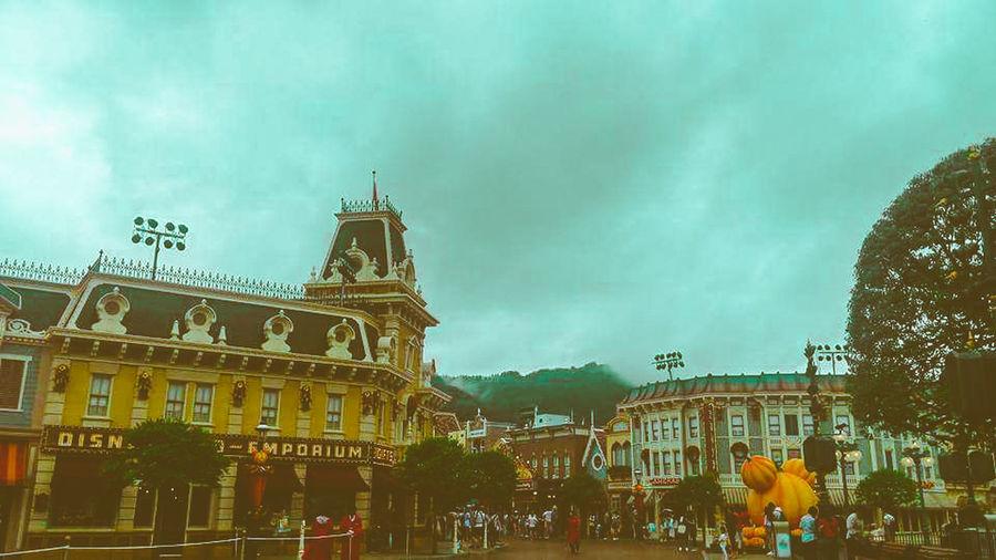 Disneyland DisneyLandHongKong HongKong Hongkong Photos Newbie First Eyeem Photo Mobilephotography HuaweiP9