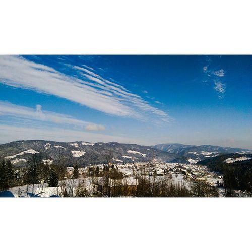 NewYear Trip Slovenia Lovrenc na Pohorju nature amaing viewlandscapehillssnowlove