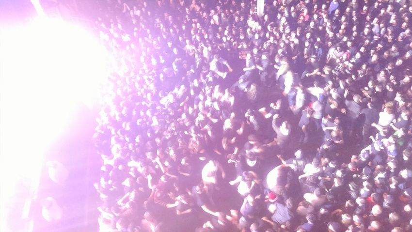 The Fan Club Metalgirl Amazing Concert In Flames Manhattan The Pit