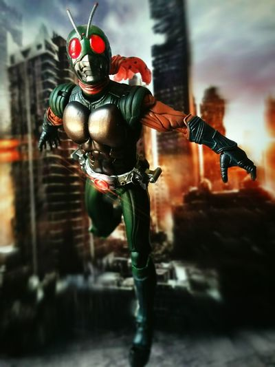 Skyrider Toy Photography Action Figures Tamashiinations Super Imaginative Chogokin BANDAI Toys Kamen Rider