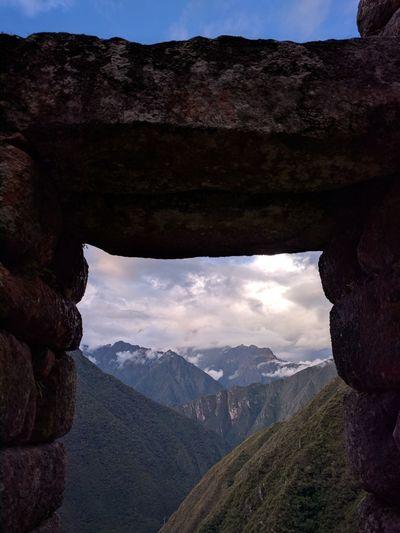 Travel Photography Travel Inca Trail Inca Ruins Peru South America Latin America EyeEmNewHere Pinaceae Hiking Cloud - Sky Nature Sky Beauty In Nature Travel Destinations Mountain Peak Outdoors No People Blue Day The Traveler - 2018 EyeEm Awards The Great Outdoors - 2018 EyeEm Awards