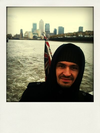Taking A Boat Down The Thames From Greenwich To Westminster With Andrey