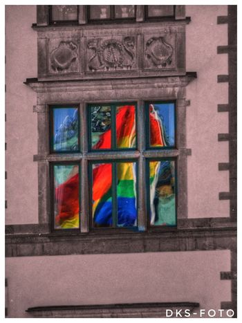 Prideparade Sweden The True Story Eskilstuna-streetphotography Multi Colored Close-up Architecture