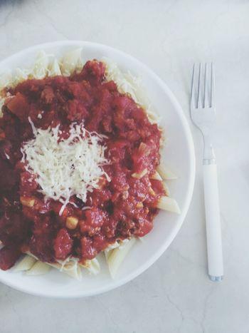 Penne Rigate Pasta Spagetti Foodporn