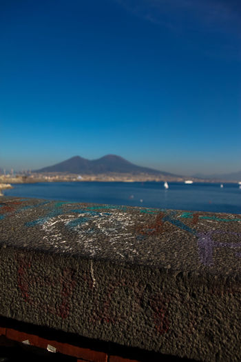 Blue City Clear Sky Horizon Over Water Italy Nature Neaples No People Scenics Sea Sea And Sky Sky Vacation Vesuvio Vesuvio Da Napoli Vesuviocoast Water