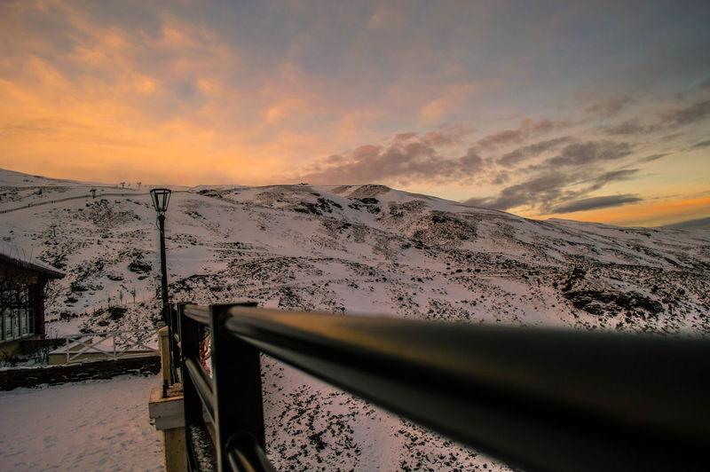 Sunset Cloud - Sky Dramatic Sky Outdoors No People Day Nature Nikon Nikon D3200 Nikonphotography Nikonphotographer Spain ✈️🇪🇸 Sierranevada Sierra Nevada Sierra Nevada Mountains Cold Temperature Snow ❄ Sky