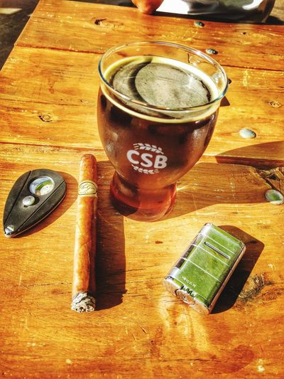 Yesterday.. Craftbeer Cigars
