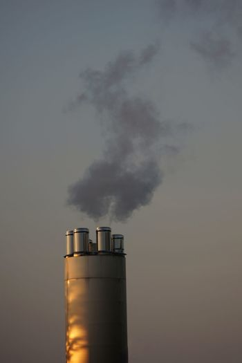 Factory Power Station Industry Fumes Smoke Stack Steam Smog Social Issues Environmental Damage Chimney Emitting Atmospheric Pollution Cooling Tower Global Warming Air Pollution Chemical Plant Petrochemical Plant Smoke Climate Change