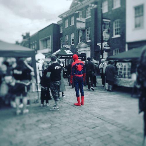 Spiderman Spider-man Frogfest High Wycombe Buckinghamshire Highstreet First Eyeem Photo