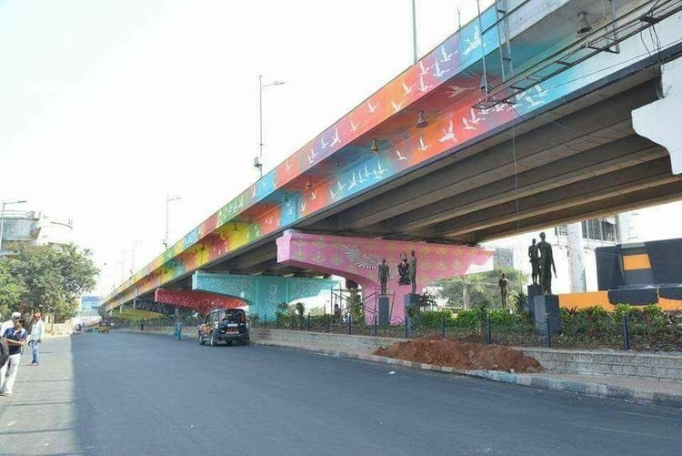 Architecture Built Structure Road Modern Bridge - Man Made Structure Sky City The Pursuit No Edit No Filter Bridge Flyover Hyderabad I Love My City 💓💓 Colourful Mobile Photography Armature Photographer EyeEm Selects Eyem Gallery Eyeem Market EyeEm Incredible India With Love From India💚 truly..urs.. Nitin