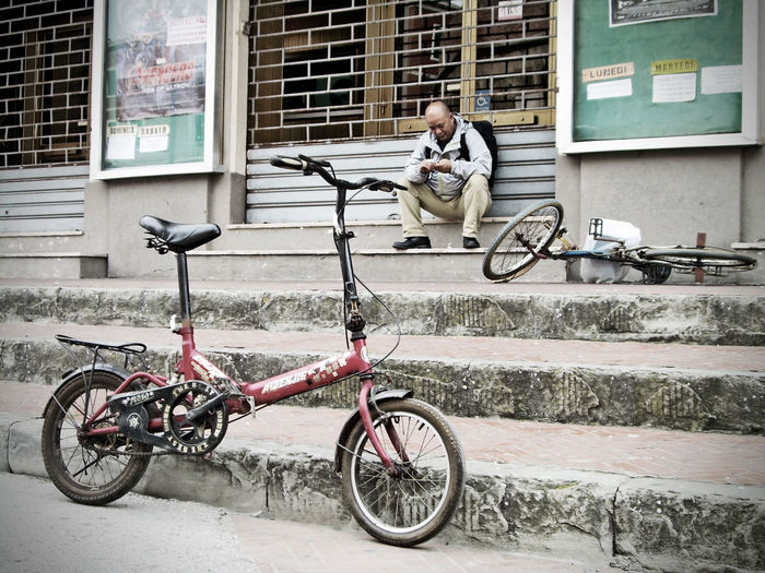"""Bike moment"" - Piombino, Italy Streetphotography Moment Bike Exploring Tuscany"
