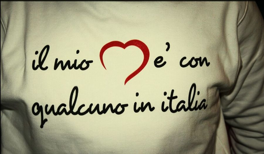 My T-shirt !!  ITALIANO…
