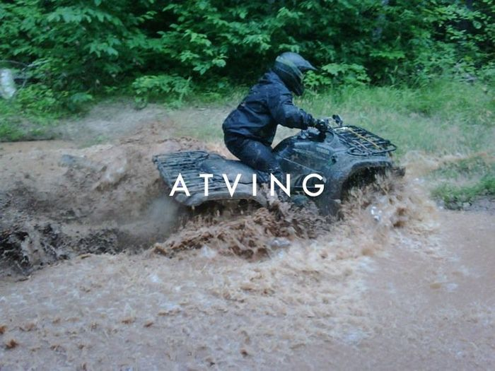 Atv ATV Ride ATV Riding ATVing Forest Four Wheeler Four Wheeling Mud Muddy Water Muddy Waters One Person Outdoors Recreation  Transportation