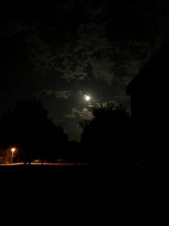 Gute Nacht. Good night. Dobrú noc. Night Moon Sky Illuminated Nature No People Full Moon Outdoors