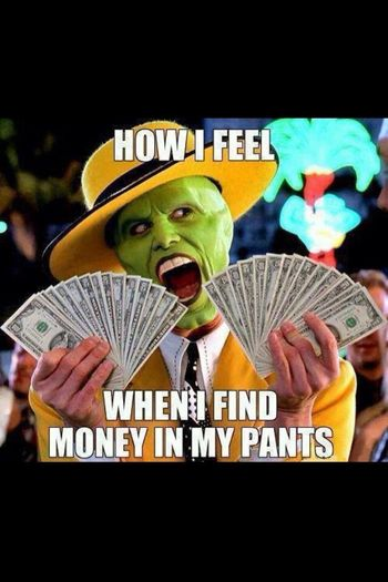 TheMask Money Feeling Lucky