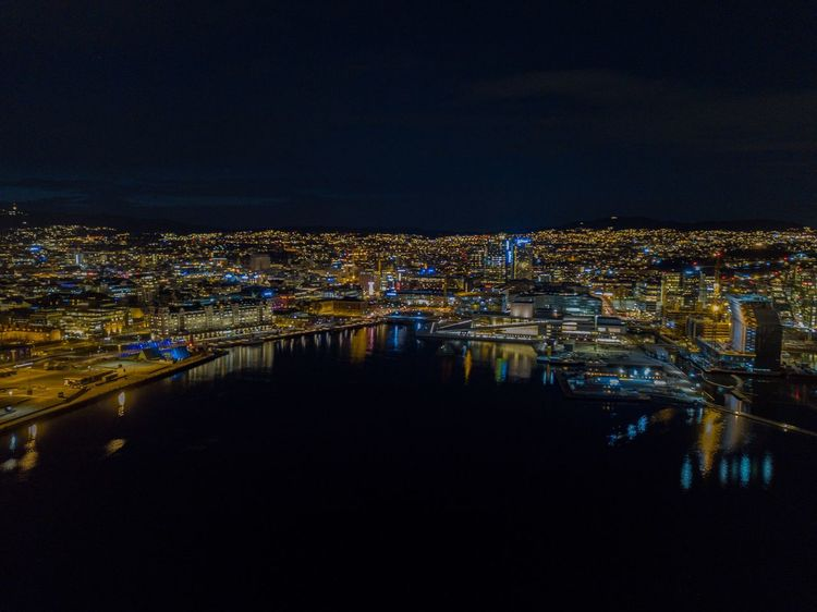 Oslo, opera, Barcode at night EyeEm City Shots Eyeemnorway Eyeem Norway EyeEm Best Shots Night Lights Munch Museum Oslo Urban Oslo City Barcode Havnelageret Operahouse Oslo Drone  DJI Mavic Pro EyeEm Selects Night City Illuminated Architecture Built Structure Building Exterior Cityscape Water High Angle View Reflection Building Aerial View Office Building Exterior Modern Capture Tomorrow