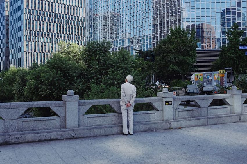 Street Photography Full Length One Person Plant Tree Real People Standing Architecture