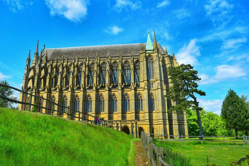 Lancing College Historical Building Arhitecture Lancing  Uk History Sky Clouds And Sky Green Eye4photography