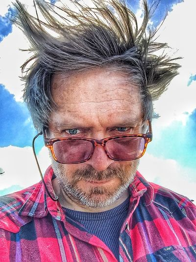 Windy Selfie today at ikea Selfportrait The Portraitist - 2015 EyeEm Awards