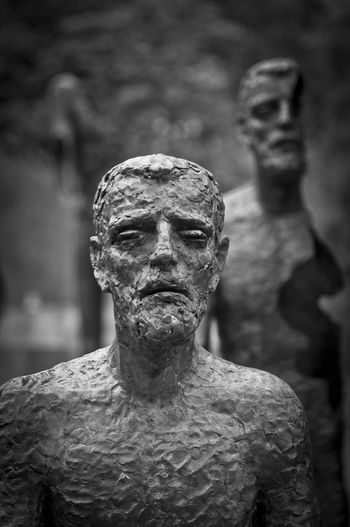 Expressive Sculpture Suffering - My entry for the Bnw_friday_eyeemchallenge Blackandwhite Bw_collection