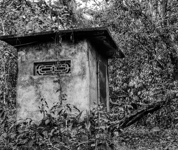 A dilapidated shed at a farm yard in Kaviyoor, Kerala. Blackandwhite Shed Farmyard Farm Dilapidated Building Dilapidated Moody India Kerala