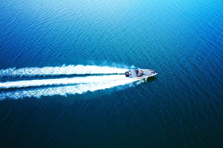 Power boating Nautical Vessel Transportation Mode Of Transport Water On The Move Sea Waterfront Wake - Water Speedboat Motion Nature Wake Outdoors Speed Day Moving Beauty In Nature Travel Destination Reflection Atlanta, Georgia Aviation Photography Scenics ATL Aviationphotography Backgrounds