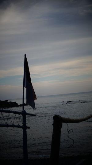 flag on ship