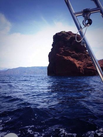 Hanging Out Corsica Scandola Boat
