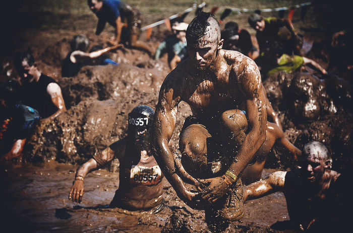 Tough Mudder Sports Photography Snapshot Captured Moment Obstacles Mud Eye4photography  EyeEm Best Shots https://toughmudder.com