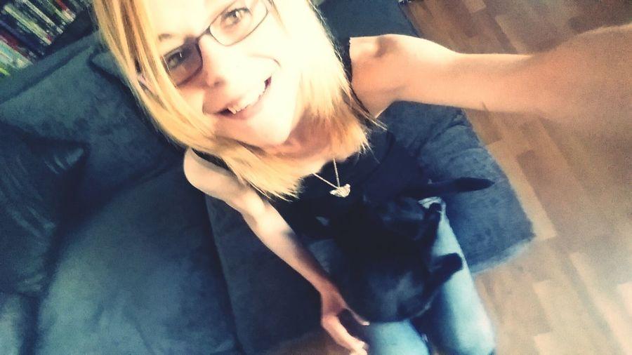 Cat Lovers Me Selfie :) Selfie ♥