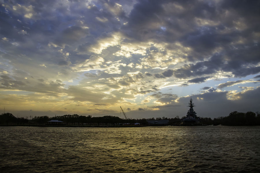 """Few shots before the thunderstorms rolled in Downtown Wilmington NC Riverwalk USS North Carolina Battleship """"Showboat"""" BB-55 Nikon Nikond750 Riverwalk Downtown Tamron28300 Thunderstorms Vivid Colours  Weather Wilmington NC WithMyTamron Bluesky Capefearriver Cloudporn #skyporn #beautiful #bestskysever Clouds And Sky Meteo Nikonphotography No People Outdoors Outdoors Portcity Skyonfire Sunset Sunset #sun #clouds #skylovers #sky #nature #beautifulinnature #naturalbeauty #photography #landscape Tamronusa Ussnorthcarolina Visitnc Wect"""