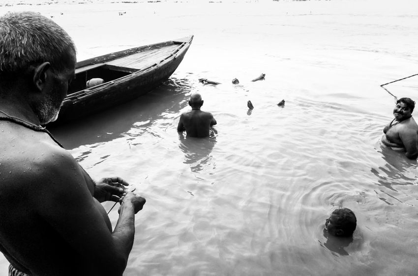 Varanasi, 2016 Ganges Ganges River India Street Street Photography Streetphoto_bw Varanasi Varanasi, India Ganges, Indian Lifestyle And Culture, Bathing In The Ganges,