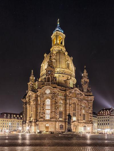Dresden Frauenkirche Nightphotography Architecture