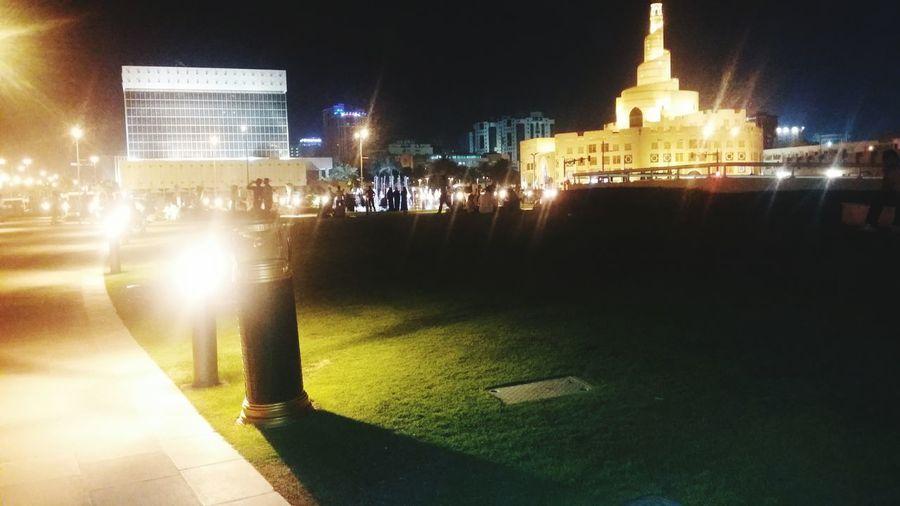 Fanar Lighting Doha @ Night