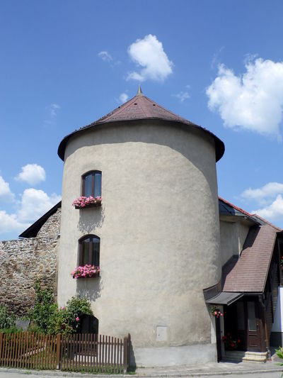 Architecture Historical Building Austrian Flowers Residential Structure Village Tower
