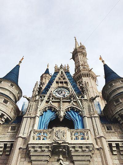 Disney DisneyWorld Castle Cinderella Cinderella Castle Orlando Florida